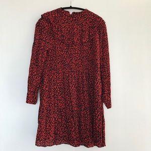 ZARA | LEOPARD PRINT DRESS